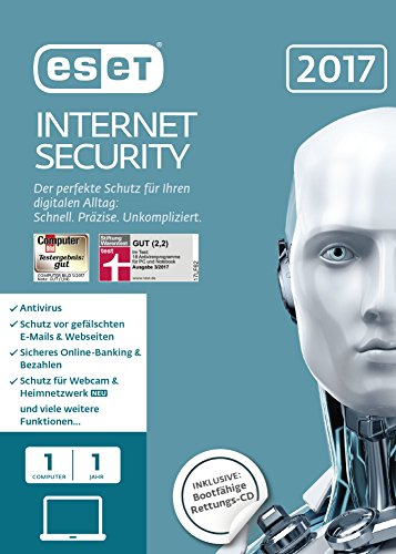 ESET Internet Security 2017 Edition 1 User (FFP)