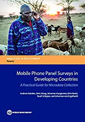 "Household survey data are very useful for monitoring living conditions of citizens of any country. In developing countries, a lot of this data are collected through ""traditional†? face-to-face household surveys. Due to the remote and dispersed nature..."