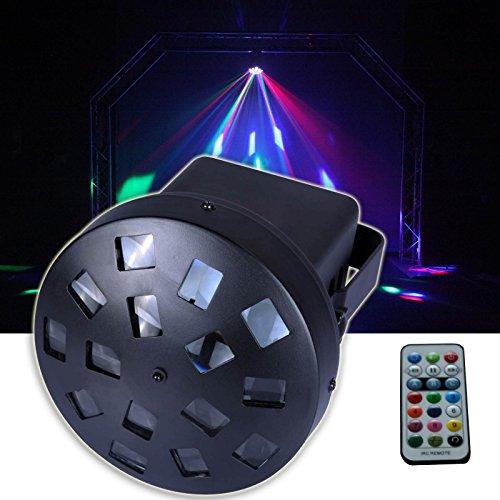 E-Lektron LMR-9W LED Mushroom Flower Effekt DJ Party Disco Lichteffekt RGB Strahler Bühnenbeleuchtung (Flower-effekt)