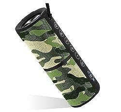 Portronics POR-888 Breeze Bluetooth Speaker 8 Bluetooth Home Audio Speaker (Green, Stereo Channel)