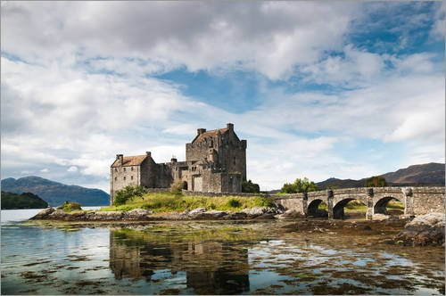 Eilean Donan Castle (Alu Dibond 90 x 60 cm: Schottland - Eilean Donan Castle von Reiner Würz RWFotoArt)