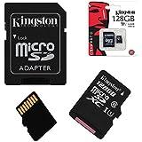 Acce2s - Carte Mémoire Micro SD 128 Go classe 10 pour SAMSUNG Galaxy J3 2016 - J1 2016 - J7 2016 - J5 2016 - J5
