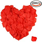 gofriend® 2000pcs artificial Tela pétalos de la flor de Rose de seda boda decoración de la fiesta de la novia