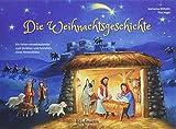 Die Weihnachtsgeschichte: Ein Folien-Adventskalender zum Vorlesen und Gestalten eines Fensterbildes