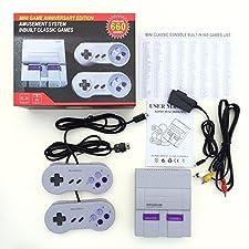 Super Famicom NES Mini Classique Nintendo Trendz2018 SFC TV Vidéo Console De Jeu De Jeu Console Divertissement Système Intégré 660 Classique Anniversaire Edition