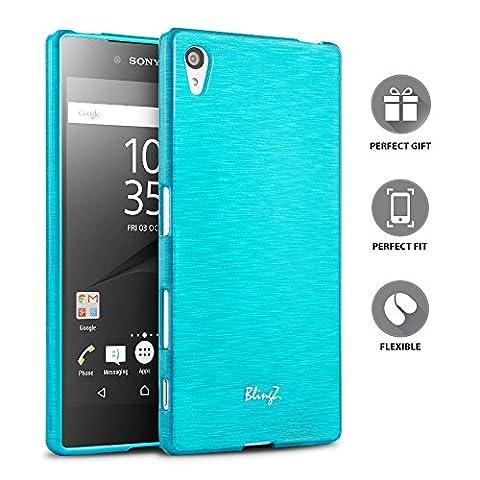Sony Xperia Z5 Premium Coque, TheBlingZ.® Rayé silicone TPU Housse Etui Coque Case Cover Sony Xperia Z5 Premium -
