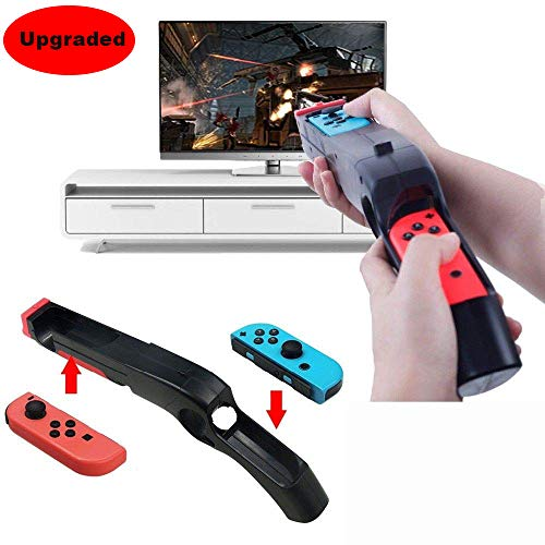 Vicstar Game Gun kompatibel mit Nintendo-Switch für Wii- Fernbedienung Nunchuck Shoot Sport Games Like Wolfenstein II,The Colossus, Big Buck Hunter Bundle, etc