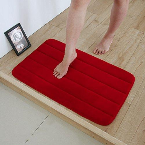 Felpudos de Baño lenta recuperación absorbente alfombras de baño co