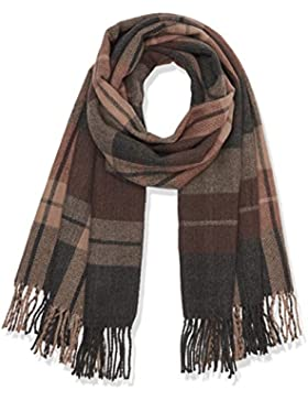 Only Onlallie Weaved Check Scarf Acc Noos, Bufanda para Mujer