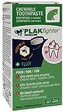 VETOCANIS Dentifrice à Croquer Plak Fighter pour Chat 30 comprimés, Hygiène Bucco-Dentaire Chat, Arôme Poulet