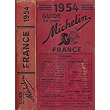 Guide Michelin: France. 1954