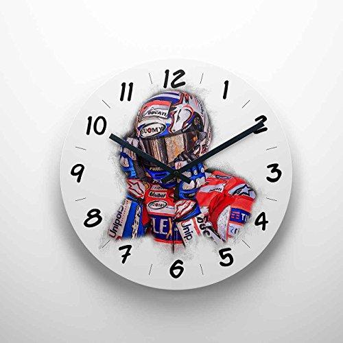 GP-Clock - Andrea Dovizioso | Wanduhr 29 cm