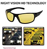 #8: NuVew Day/Night Vision Driving Rectangular Sunglasses (Yellow Lens) (NW-RX861-23-YLW543)
