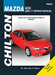 Chilton Mazda3 2004-2011 Repair Manual: Covers U.S. and Canadian Models of Mazda3 2004 through 2011, Does Not Include Information Specific to All-Wheel Drive or Turbocharged Models
