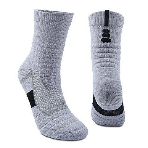 Athletic Socks High Crew Socks Wicking Cushion Outdoor Sports For walking running camping