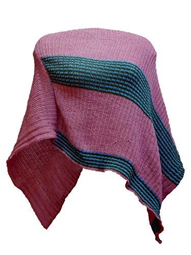 FILATRICOT - Poncho - Cappotto - Senza maniche  -  donna Tricolore Vert sapin 9009 Bleu azur 9048 Rose 9053