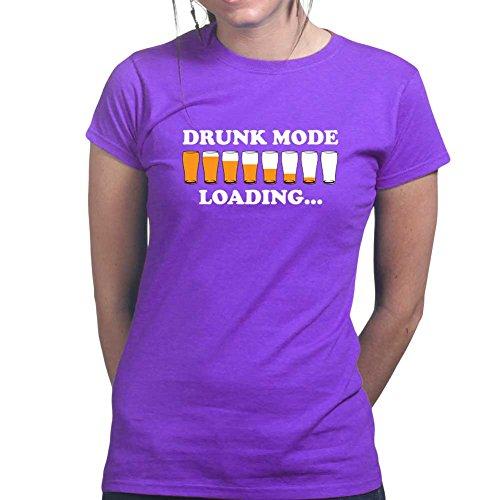 Drunk Mode Trinkspiel Party Ladies Womens T (Tisch Kostüm Roulette)