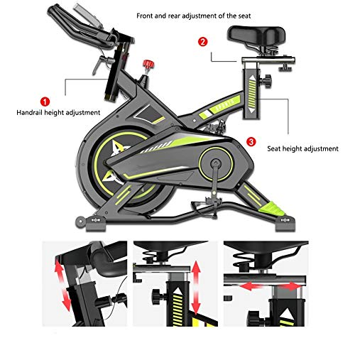 51Uc%2BVCI6iL. SS500  - JYKJ Indoor Bicycle Family Exercise Bike Mute Training Family Aerobics Training Machine And Fitness Heart Weight Loss Exercise Machine