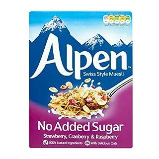 Alpen No Added Sugar Strawberry, Cranberry and Raspberry, 560 g