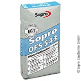 Sopro ObjektFließSpachtel OFS 543 | 25 kg/Sack | selbstnivellierende, pumpfähige, schnell erhärtende Fließspachtelmasse