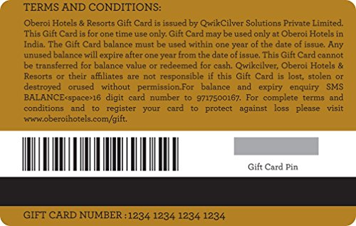 Giftwrapped by Oberoi Gift Card - Rs.5000: Amazon.in: Gift Cards