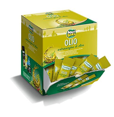 Aperisnack® - ap05.012.01 olio extravergine di oliva develey monodose - 200 bustine da 10 ml