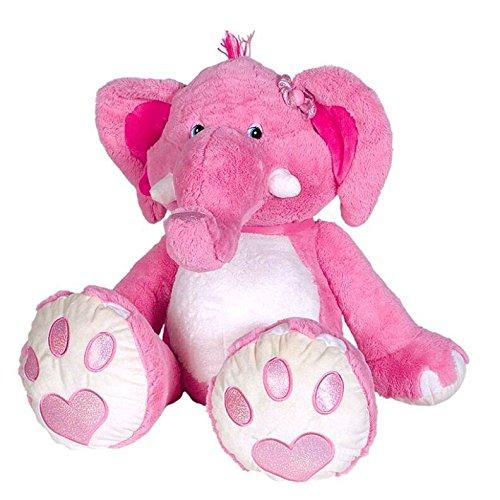 Peluche Gigante Elefante Rosa - 110 cm