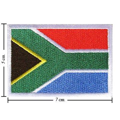 Sud Africa Bandiera Nazione Style-1ricamato ferro o cucire patch di Wonder Fullmoon