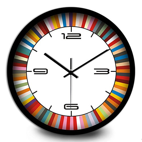 Orologio da parete Ysayc muto di arte di modo semplice