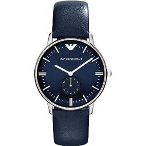 Emporio Armani AR1647 – Reloj analógico de Cuarzo para Mujer, Correa