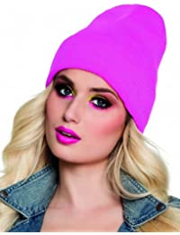 Neon Beanie Unisex Turn Up Hat
