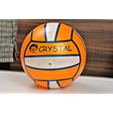 Crystal Air inflated vinyl ball perfect for children, pool games and beach games with inflating pin