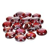 EFCO–Glas-Nuggets irisierend 13–15mm rot, 35Stück