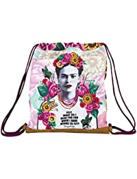 Frida Khalo Saco Plano, Color Rosa/Blanco