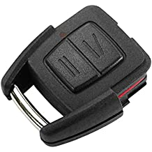 Carcasa Llave Carcasa Mando Negro 2 Botones Opel Corsa Astra Zafira Tigra Combo Meriva Agila chiavit