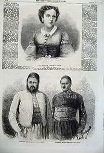 Vice-roi 1862 de Pacha de Théâtre de Trebelli Egypte Koenig Bey