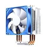 SilverStone SST-AR02 - Disipador para CPU Argon con 3 tubos isotérmicos de contacto directo, 92mm PWM, Intel/AMD