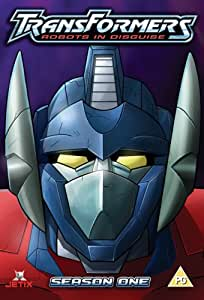 Transformers Robots In Disguise Series 1 Dvd Amazon