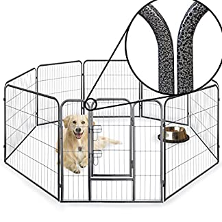 8 Side 60cm, 80cm, & 100cm Tall Heavy Duty Strong Pet Pen Whelping Playpen Dog Puppy Cage Crate Folding Fence Indoor Outdoor FREE 5 Wee Pads 8 Side 60cm, 80cm, & 100cm Tall Heavy Duty Strong Pet Pen Whelping Playpen Dog Puppy Cage Crate Folding Fence Indoor Outdoor FREE 5 Wee Pads 51Uc7PhWCkL