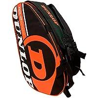 Paletero de pádel Dunlop Tour Intro Negro / Naranja Flúor