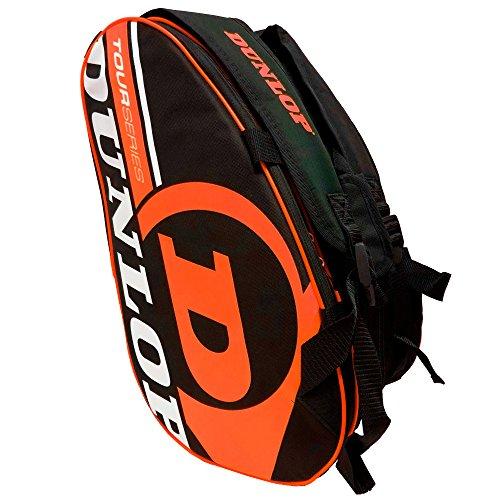 DUNLOP portaracchette da Padel Tour Intro Nero/Arancione Fluo