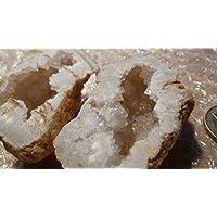 Bergkristall Druse PAAR, 114,90g, 6x4cm, voller Kristalle, nicht nur zum Aufladen anderer Heilsteine. preisvergleich bei billige-tabletten.eu