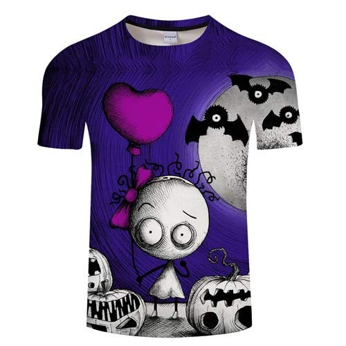 c22e7a3cf KYKU Halloween Kürbis Grafik T-Shirt Mode Lustige Tops Grunge Party Style  Casual Tees Urlaub