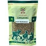 Arya Farm Certified Organic Jeera (Whole Spice Cumin Seeds), 300 g