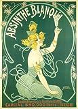 Vintage Beers, Weine und Spirituosen Absinthe Blanqui, Frankreich, circa 1900's. 250gsm, Hochglanz, A3, vervielfältigtes Poster