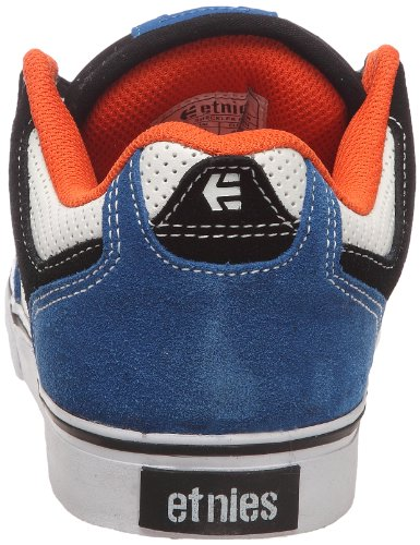 Etnies Sheckler 6 Fusion, Herren Sportschuhe - Skateboarding Schwarz (Noir/bleu/blanc)