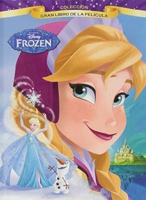 Gran libro de la película Frozen de Libros Disney