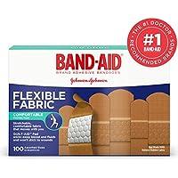 Flexible Fabric Premium Adhesive Bandages, 3/4 x 3, 100/Box preisvergleich bei billige-tabletten.eu