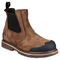 Amblers Safety Fs225 Safety Boot, Brown, 10 UK