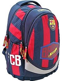 Exclusiv * FC Barcelona Mochila Mochila Mochila Escolar 42 x 31 x 20 cm Inoxidable 2018
